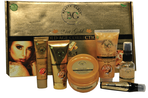 GOLD PRODUCTS & BOX